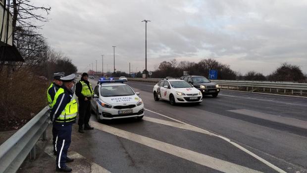 """""""Пътна полиция"""" с нова акция срещу шофьорите нарушители"""