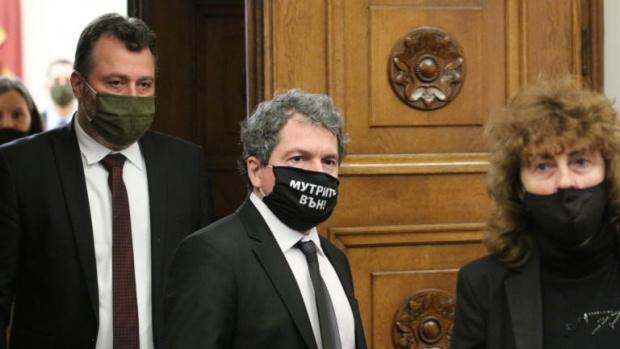 Тошко Йорданов след срещата с Радев: В коалиция с партия няма да влезем (ВИДЕО)