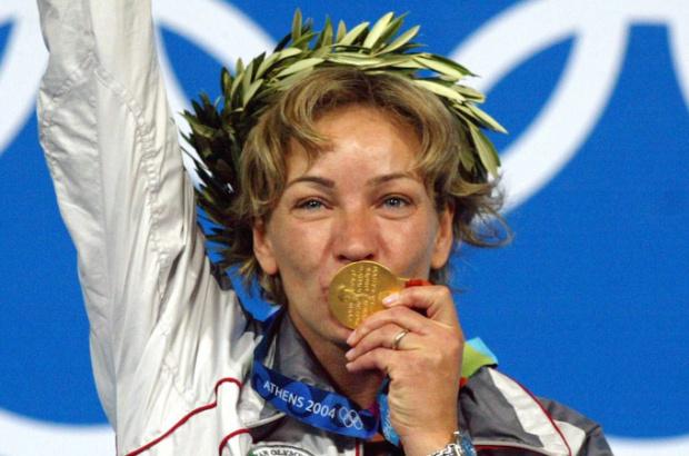 Легендарната Мария Гроздева се сбогува със спорта