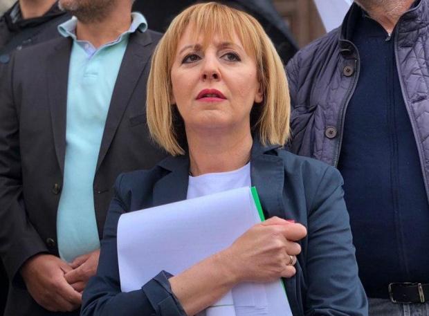 Манолова: С хората на Слави обсъждаме как да вдигнем пенсиите и майчинските още от 1 октомври