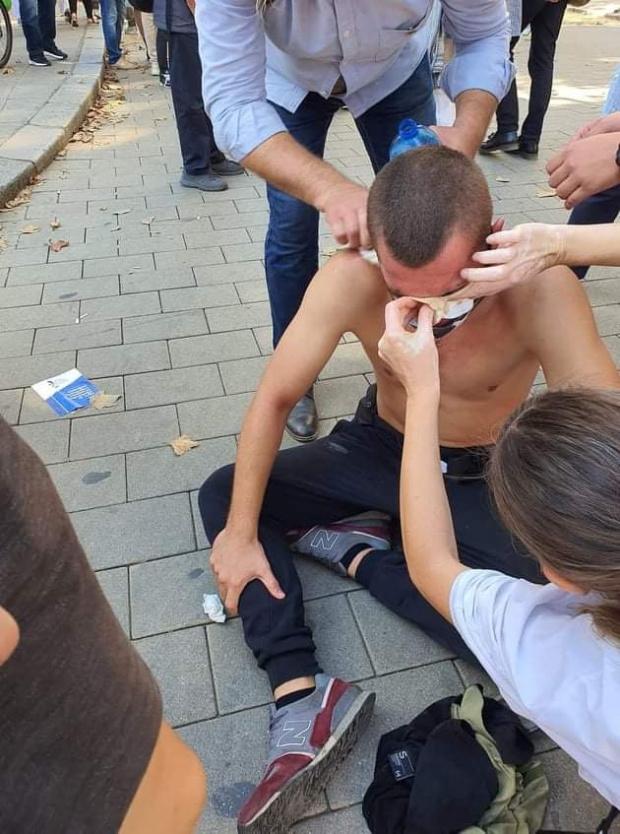 Комисията на Хаджигенов търси записи на полицейско насилие над протестиращи от миналото лято