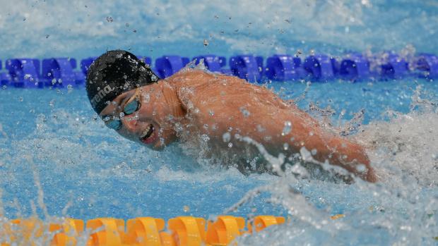 Миладинов остана осми във финала на 100 метра бътерфлай