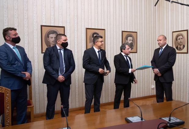 Кога ИТНса представили на държавния глава своя кандидат за премиер