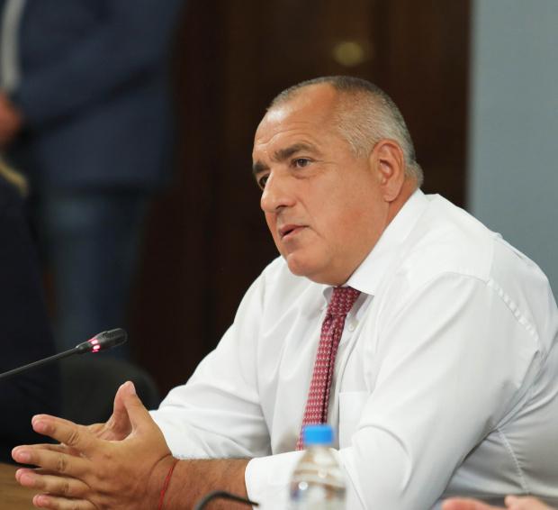 Лидерът на ГЕРББойко Борисов свиква във вторник (3 август) заседание