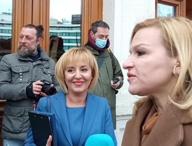 Манолова: Радев да свика консултации преди да връчи третия мандат