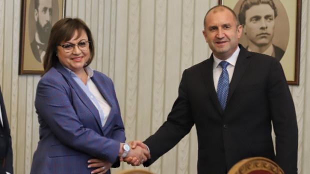 БСП връща на президента нереализиран последния мандат