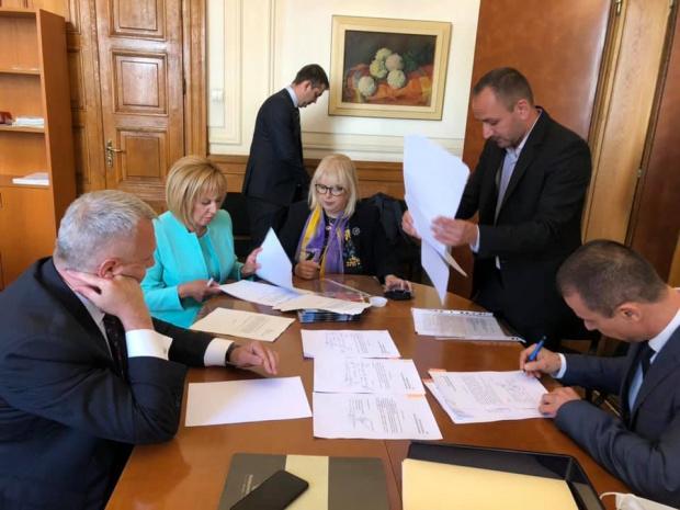 Мария Капон: Борисов иска да се качи на гърба на Петър Стоянов