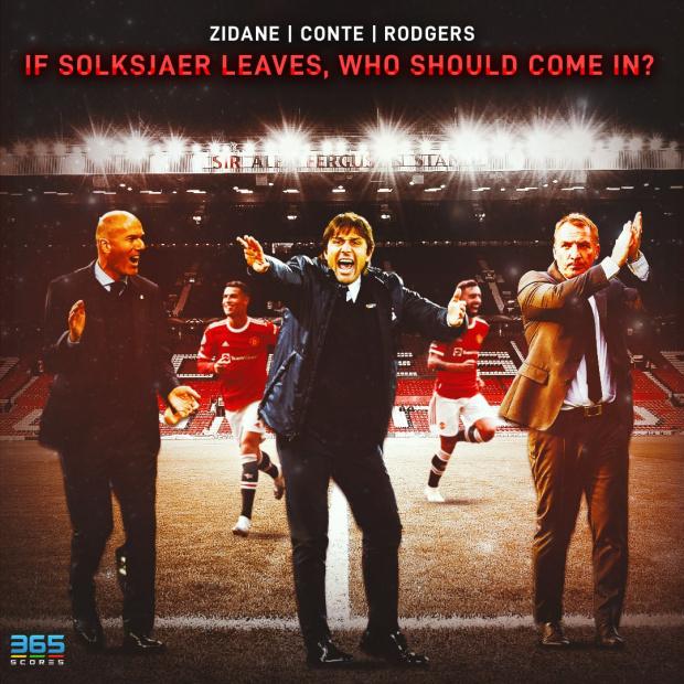 Манчестър Юнайтед бие шута на Солскяер, Зидан или Конте поемат юздите