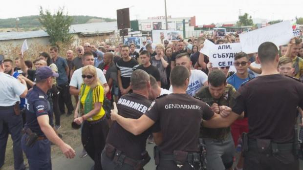 След трагичната катастрофа: Айтос отново на протест срещу тежкия трафик