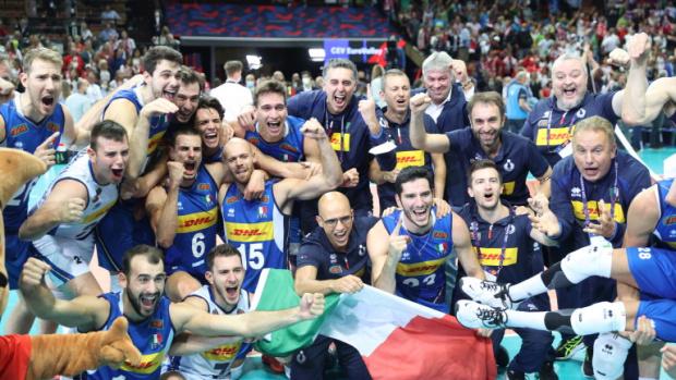Италия стана еврошампион и по волейбол при мъжете