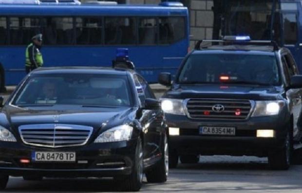 Член съблъсък с кола на НСО в София, няма сериозно пострадали