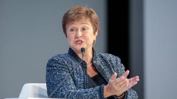 Управляващата директорка на Международния валутен фонд (МВФ) Кристалина Георгиева заклейми