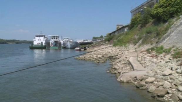 Критично ниско е нивото на Дунав