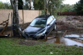 Гърция бедства заради силните дъждове, хора търсят спасение на покривите