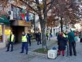 """Пак протест пред МЗ заради """"зеления сертификат"""""""