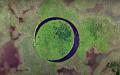 Мистериозният кръгъл остров.Окото, въртящ се около оста си (ВИДЕО)