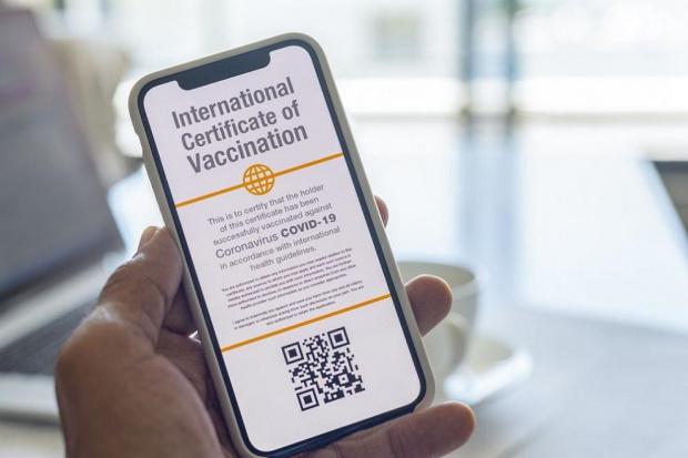 Сайтът, където може да бъде изтеглен ваксинационен сертификат, временно не